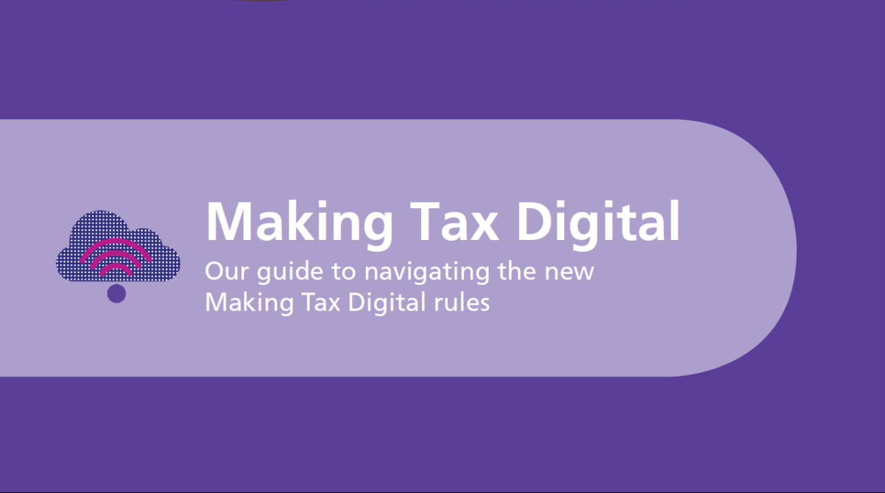 Making Tax Digital for Business